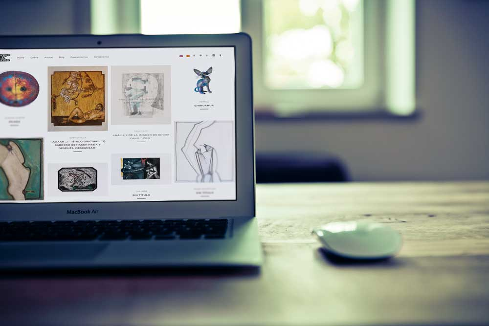 Galería online con presupuesto y pago online por Alcanix