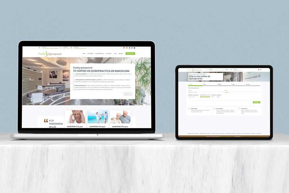 Página web con sistema de reserva y pago online